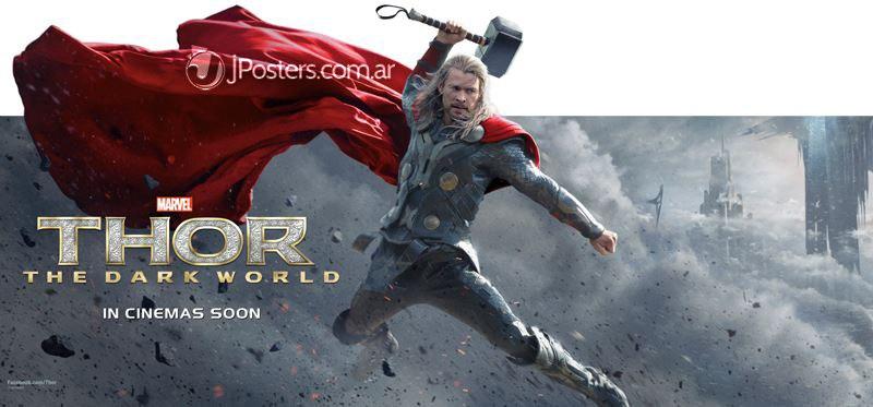 Thor - El Mundo Oscuro: Banner
