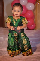 Babies Pictures With Indian Traditional Dress Pics