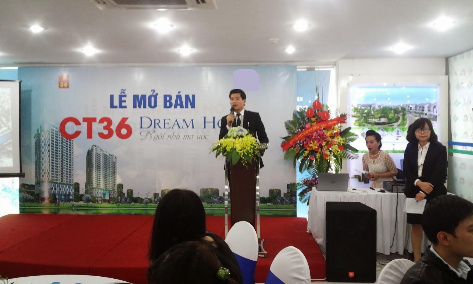 Lễ mở bán chung cư CT36 Dream Home
