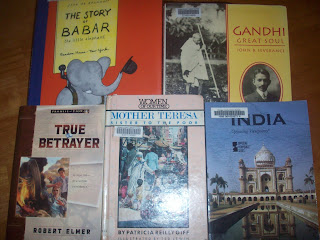 From Gandhi to Mother Teresa was one aspect of  Modern India we studied!