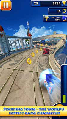 Sonic Dash v1.8.0 [Mod Money]