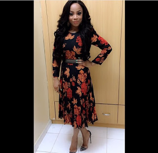 Welcome To Glowyshoes Blog: Toke Makinwa In Christian Louboutin ...