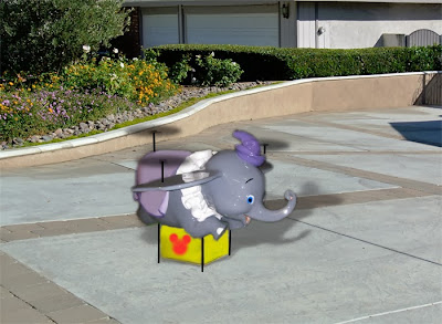 Disney Dumbo Drone Amazon Delivery What-If Future Online