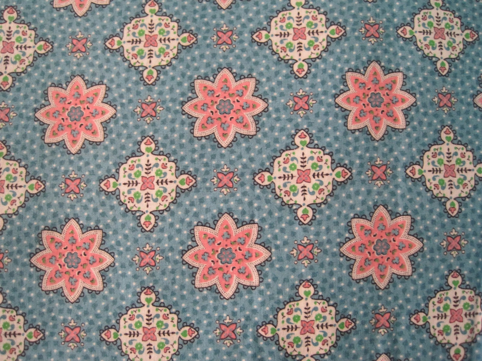 love these prints. The pink and aqua is unusual as mostly I find the ...