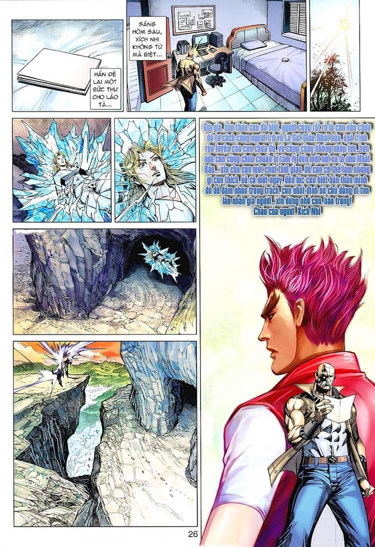 Hỏa Vân Tà Thần II chap 100 Trang 25 - Mangak.info