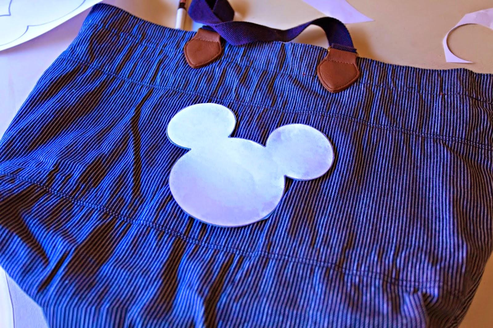 DIY, Como Renovar Bolsos, Diseños Mickey Mouse