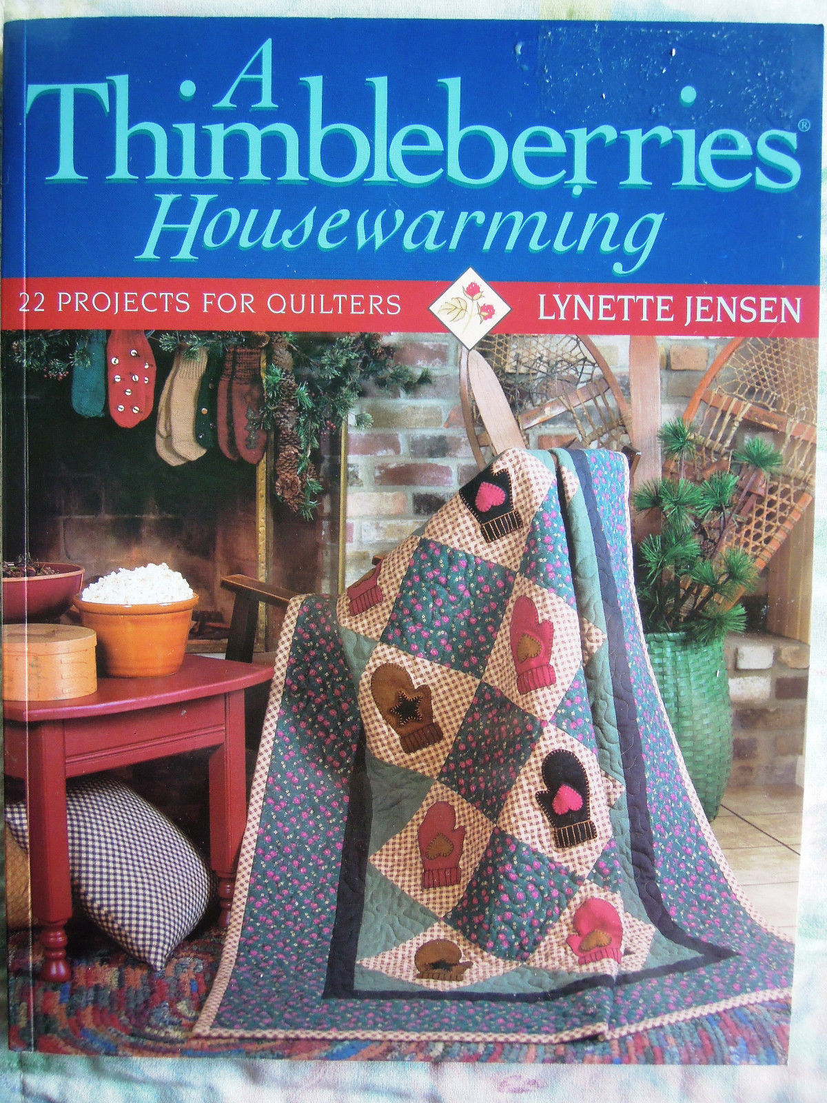 Only $3.99! Thimbleberries quilt book (click!)