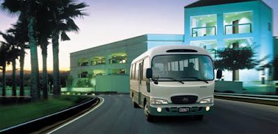 xe tải HYUNDAI COUNTY 29 CHỖ