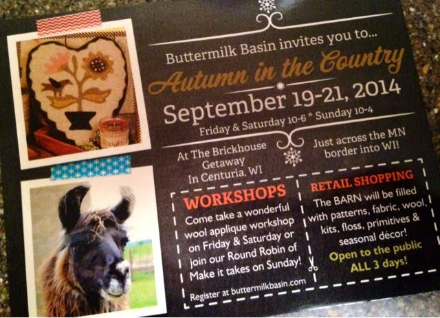 Autumn in the Country Sept 19-21