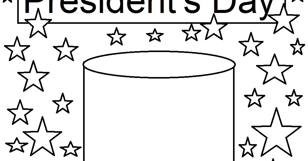 Coloring Pages For Presidents Day Presidents Day Coloring Page