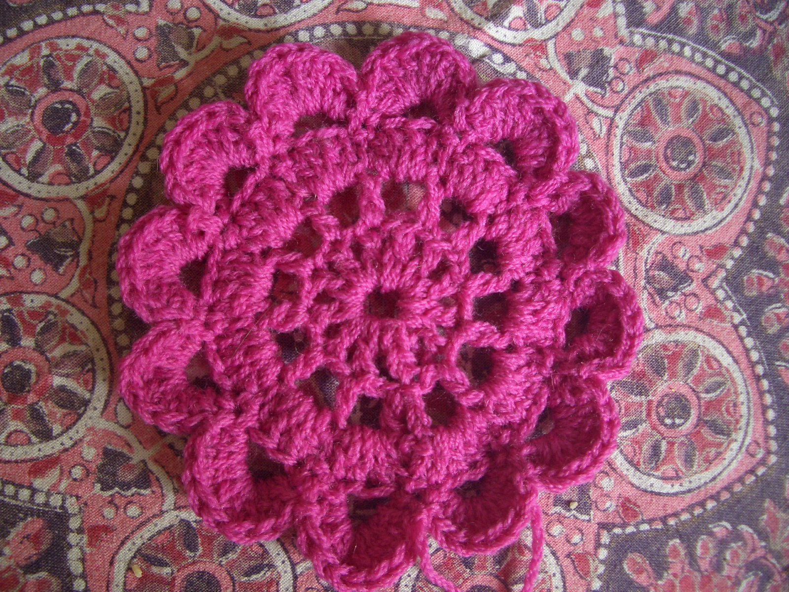 Japanese Flower Crochet Pattern Diagram Flowers Download