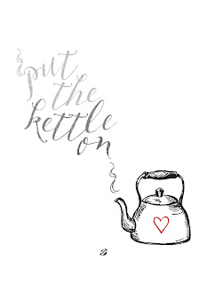 LostBumblebee ©2015 MDBN: Put the Kettle On : Tea : Donate to Download Printable : Personal use Only