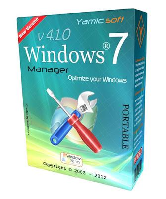 Windows 7 Manager 4.1.0 Portable PreCracked