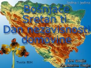čestitka za dan nezavisnosti BiH