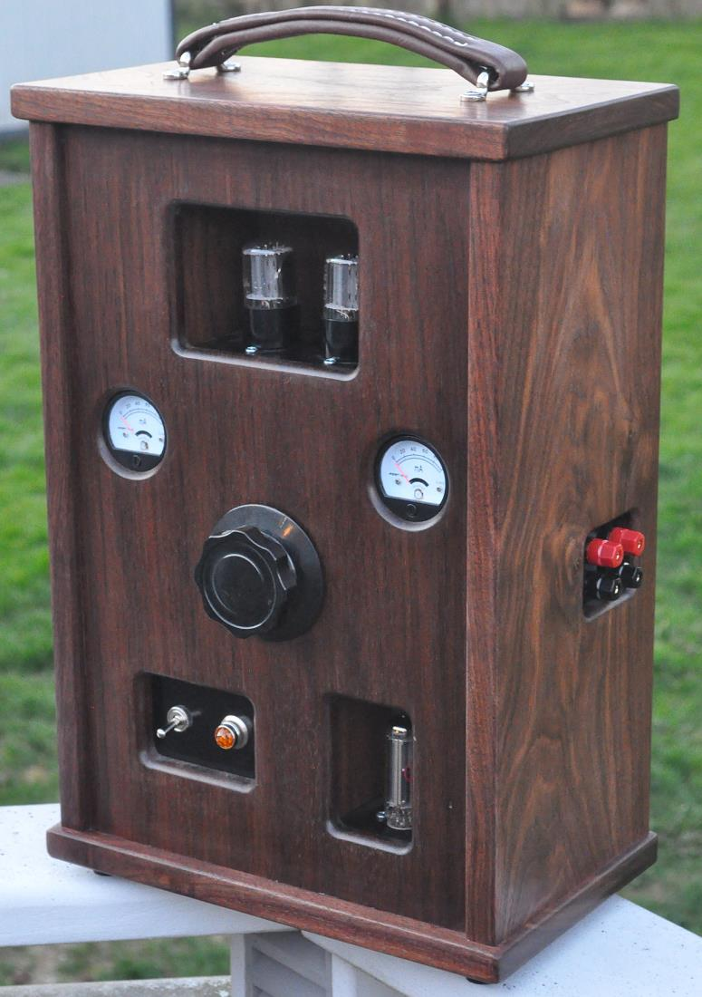 Diy Audio Projects Hi Fi Blog For Audiophiles How To Build Speaker Box Amp 6em7 Single Ended Triode Set Amplifier