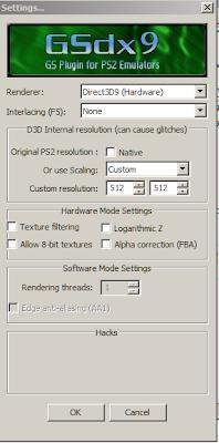 Setting Video PCSX2
