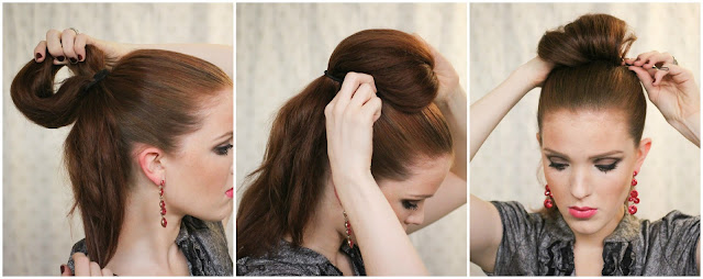Как сделать причёску в ретро-стиле (пинап)