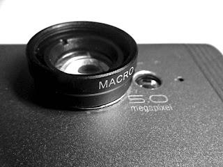 Lensa Macro untuk ponsel