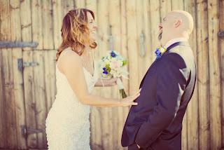 First look at Heather and Matt's wedding