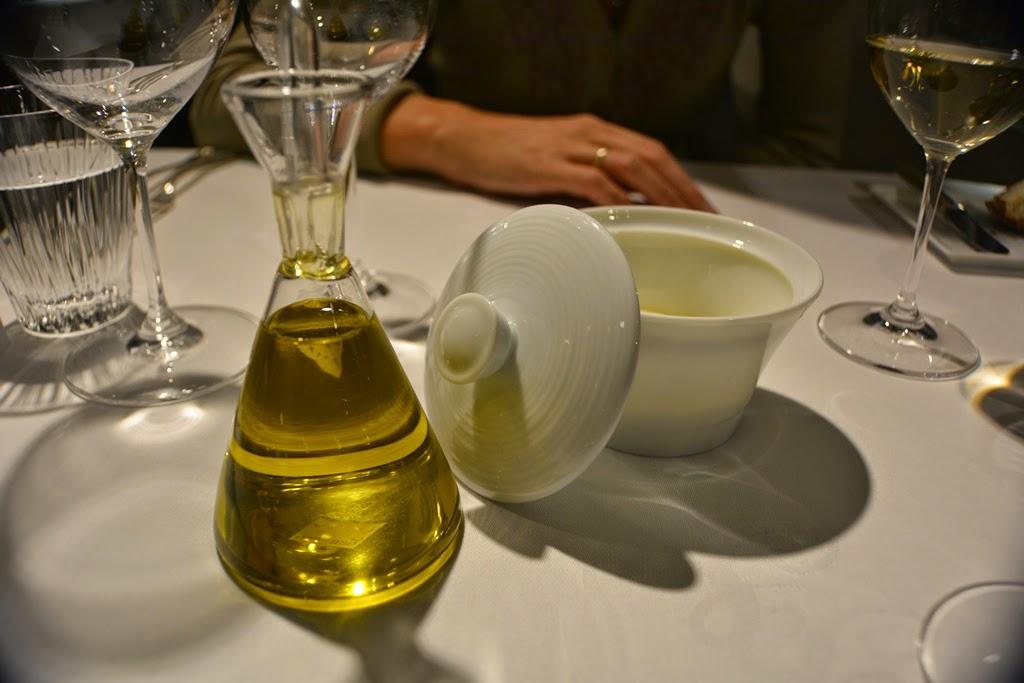 Restaurant Bartholomeus olive oil