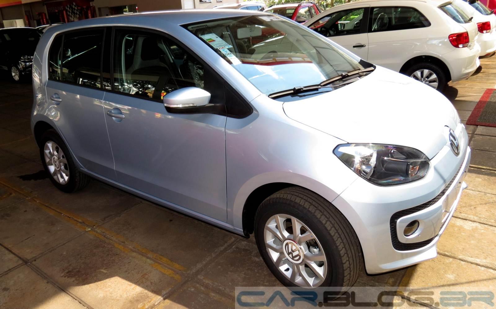 Volkswagen up! - carro mais seguro do Brasil