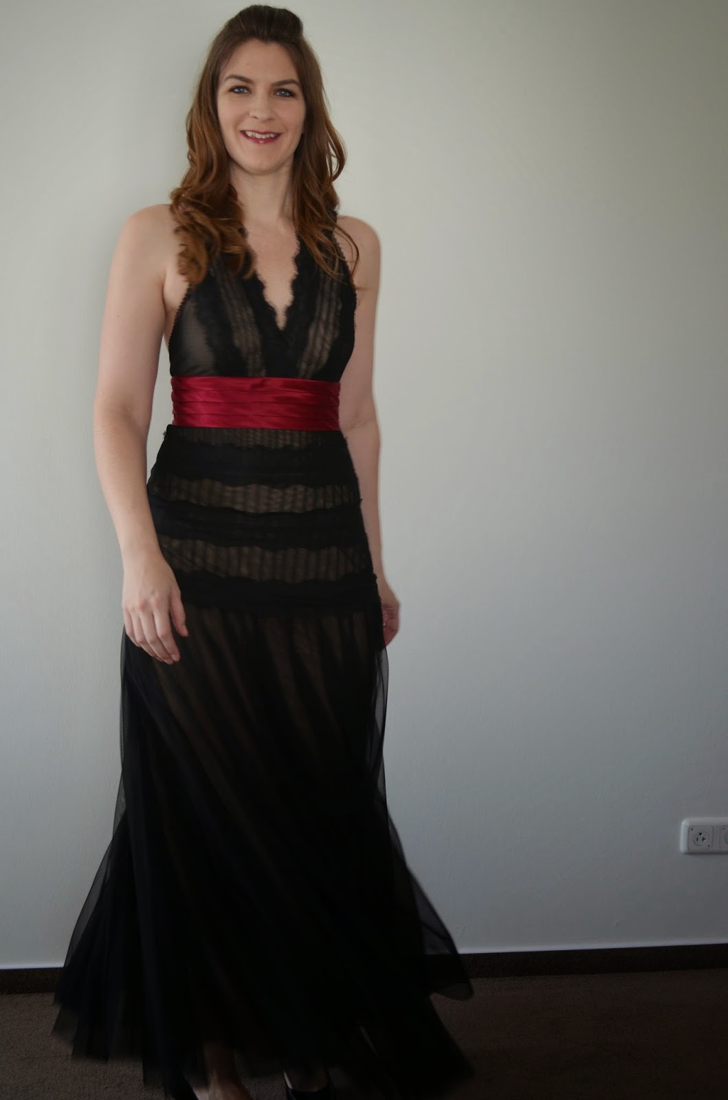 Extra-Long Formal Dress