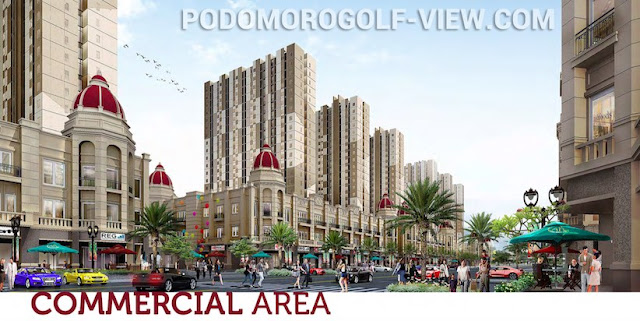 Podomoro Golf View Commercial Area