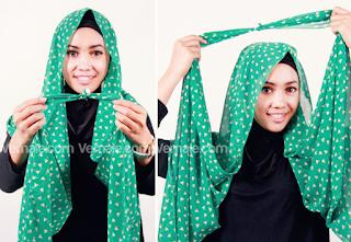Model Hijab Pashmina Sifon