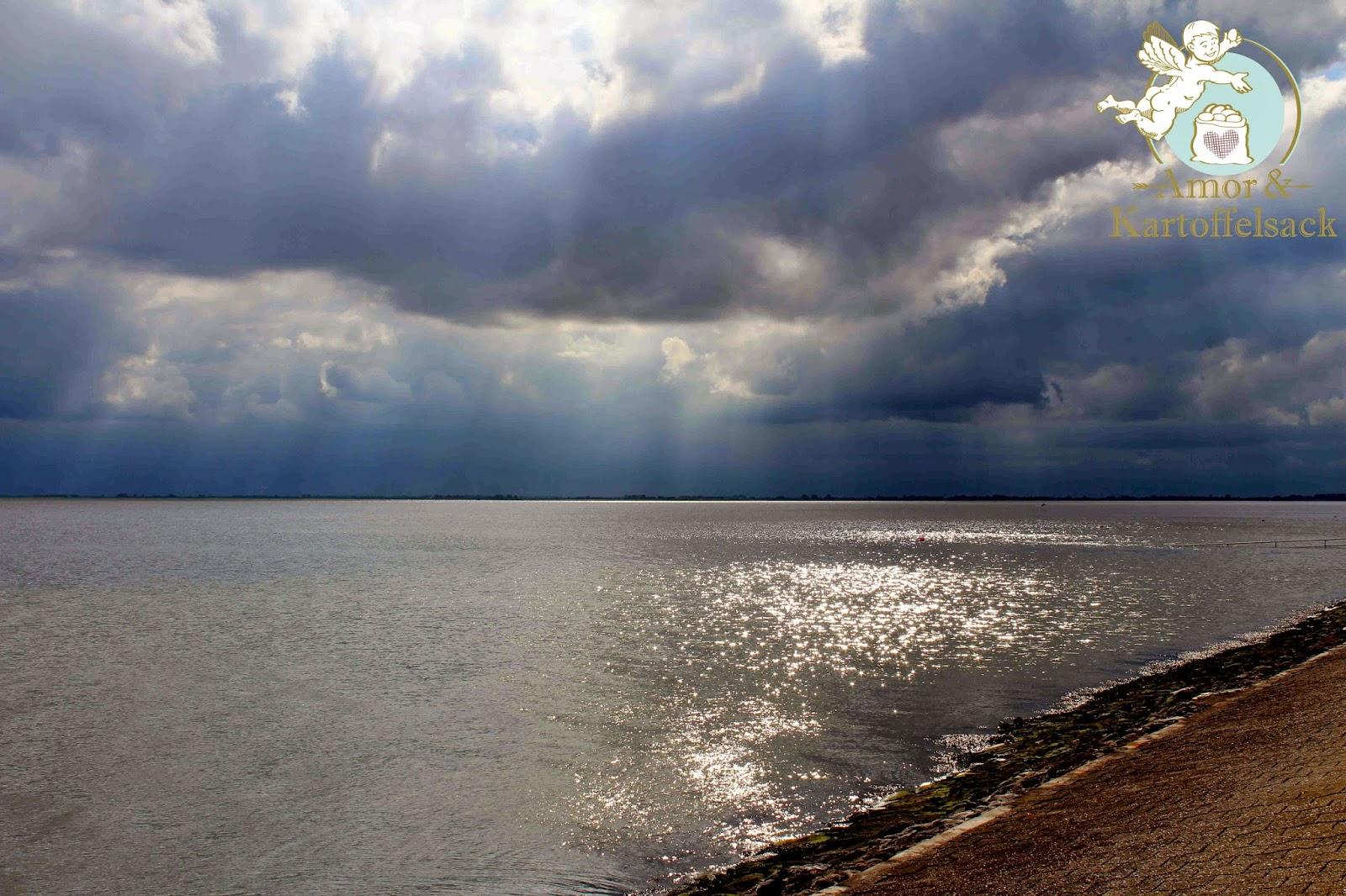 Nordsee bei Endzeitstimmung