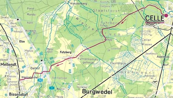 mopswandern 26 etappe celle klein hehlen nach wennebostel 26 juli 2011 29 km. Black Bedroom Furniture Sets. Home Design Ideas