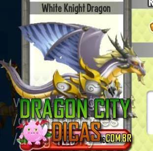 Dragão Cavaleiro Branco