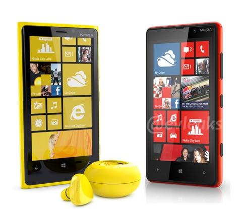 Nokia Lumia 820 & 920