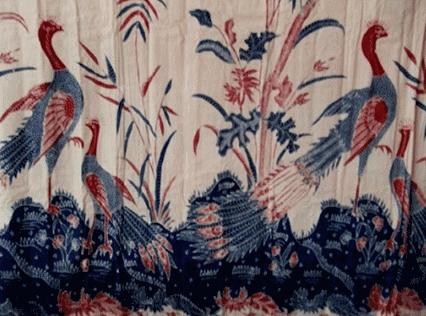 Peksi Merak, motif batik tulis klasik dari Lasem