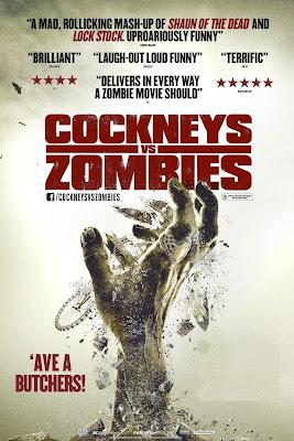 Cockneys Vs Zombies 2012 cartel