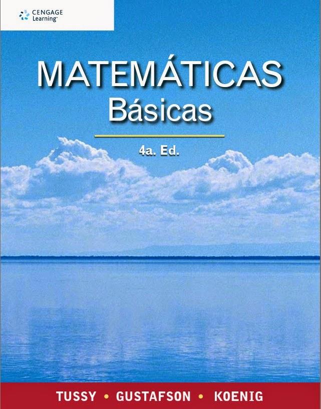 Matemáticas Básicas - Tossy - Gustafson - Koenig