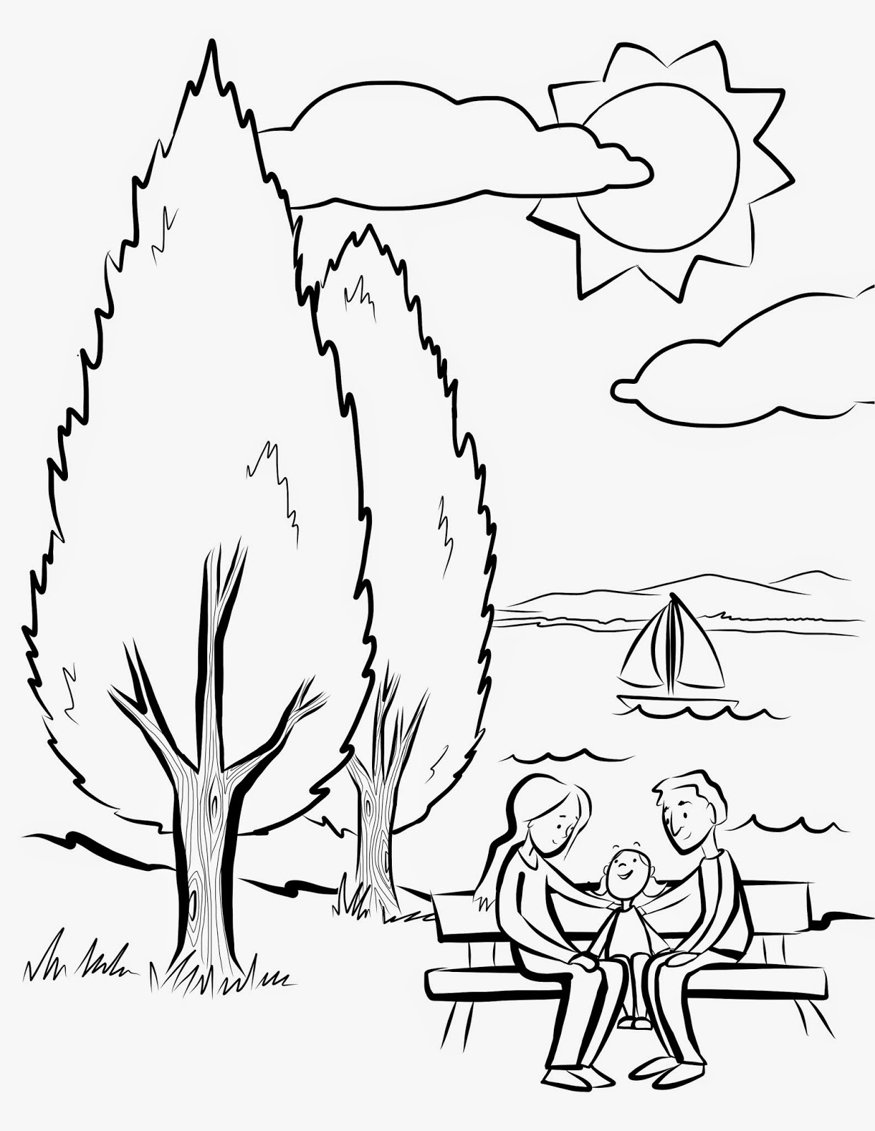 charlotte illustrations giveaway lake oswego arbor day coloring