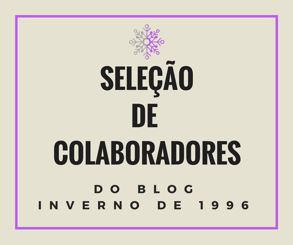 Seja colaborador do blog!
