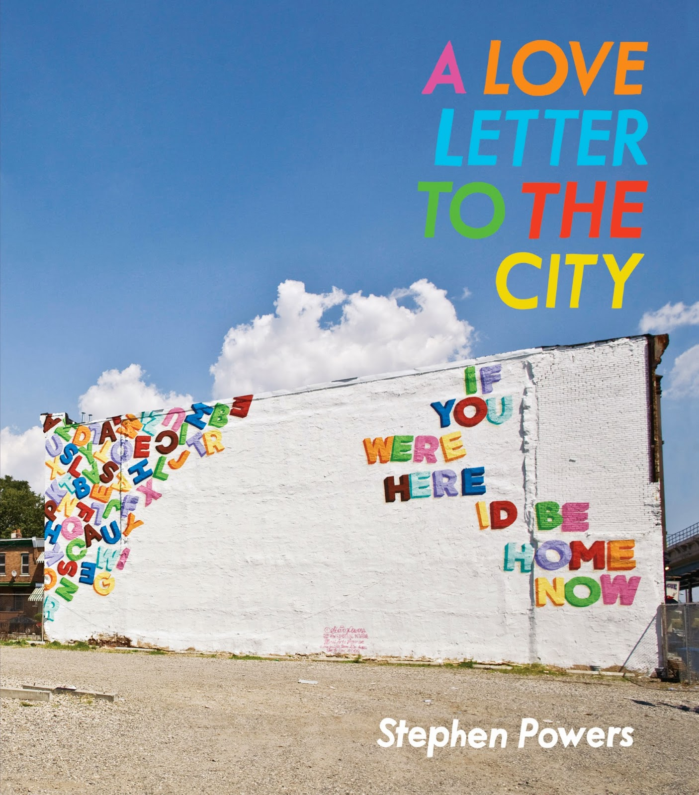 vvb32 reads: A Love Letter to the City by Stephen Powers