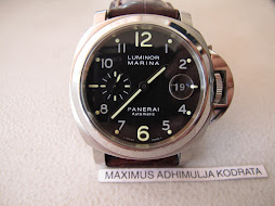SOLD PANERAI LUMINOR MARINA - PAM164 - AUTOMATIC