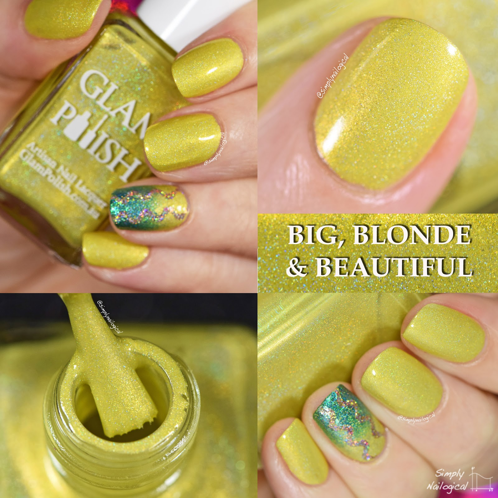 Glam Polish - Big, Blonde & Beautiful