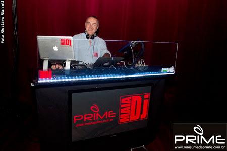 Setup Prime Teatro Positivo - Abertura de Shows