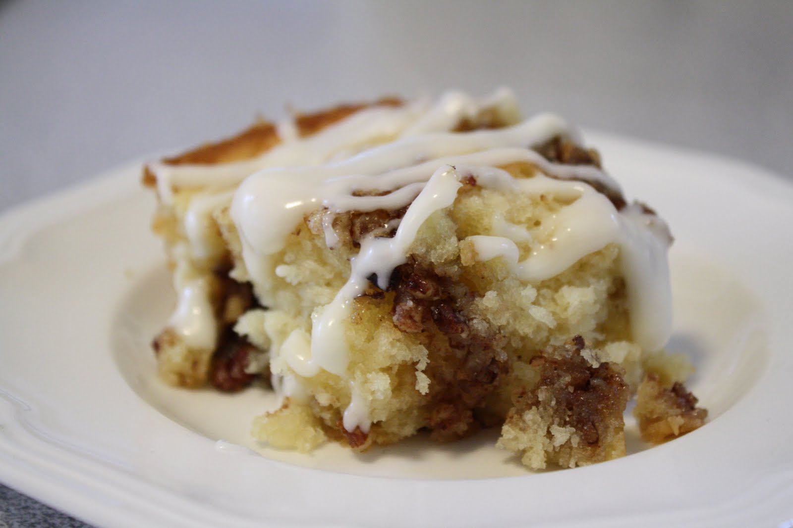 Sweet Little Smoothie: Cinnamon Roll Coffee Cake