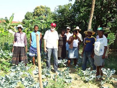 """Em """"Visita Solidária"""", padre Camilo faz seu primeiro contato com o povo e Igreja haitiana"""