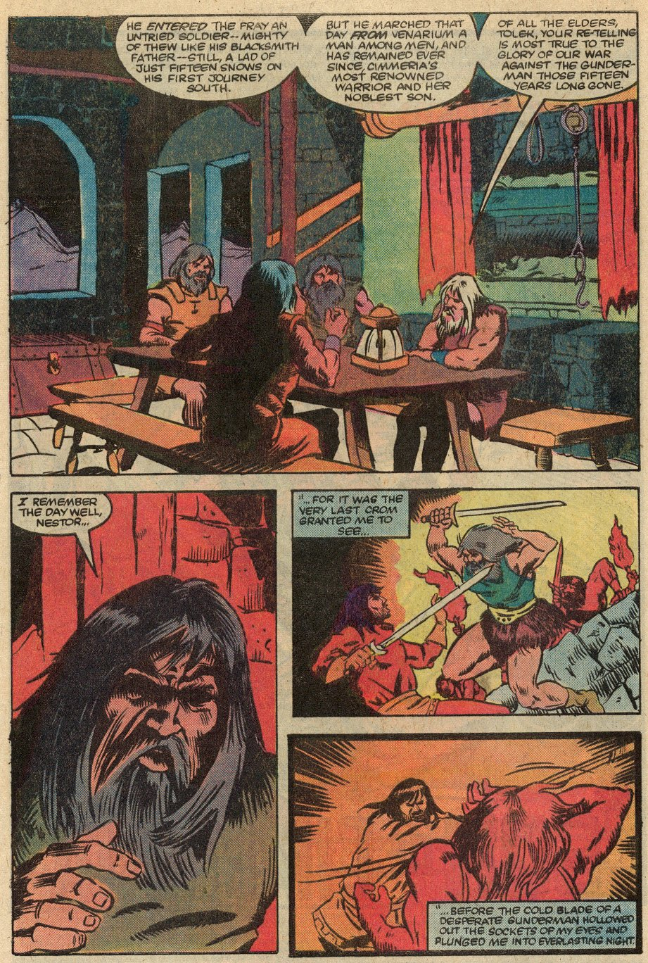 Conan the Barbarian (1970) Issue #145 #157 - English 3