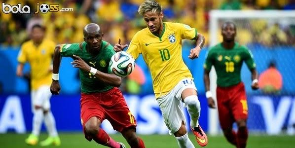 Hasil Skor Kamerun vs Brasil 1-4 Piala Dunia 2014