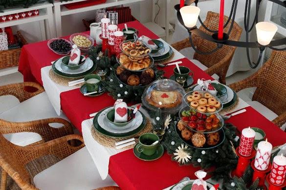 Manualidades for Imagenes de mesas navidenas