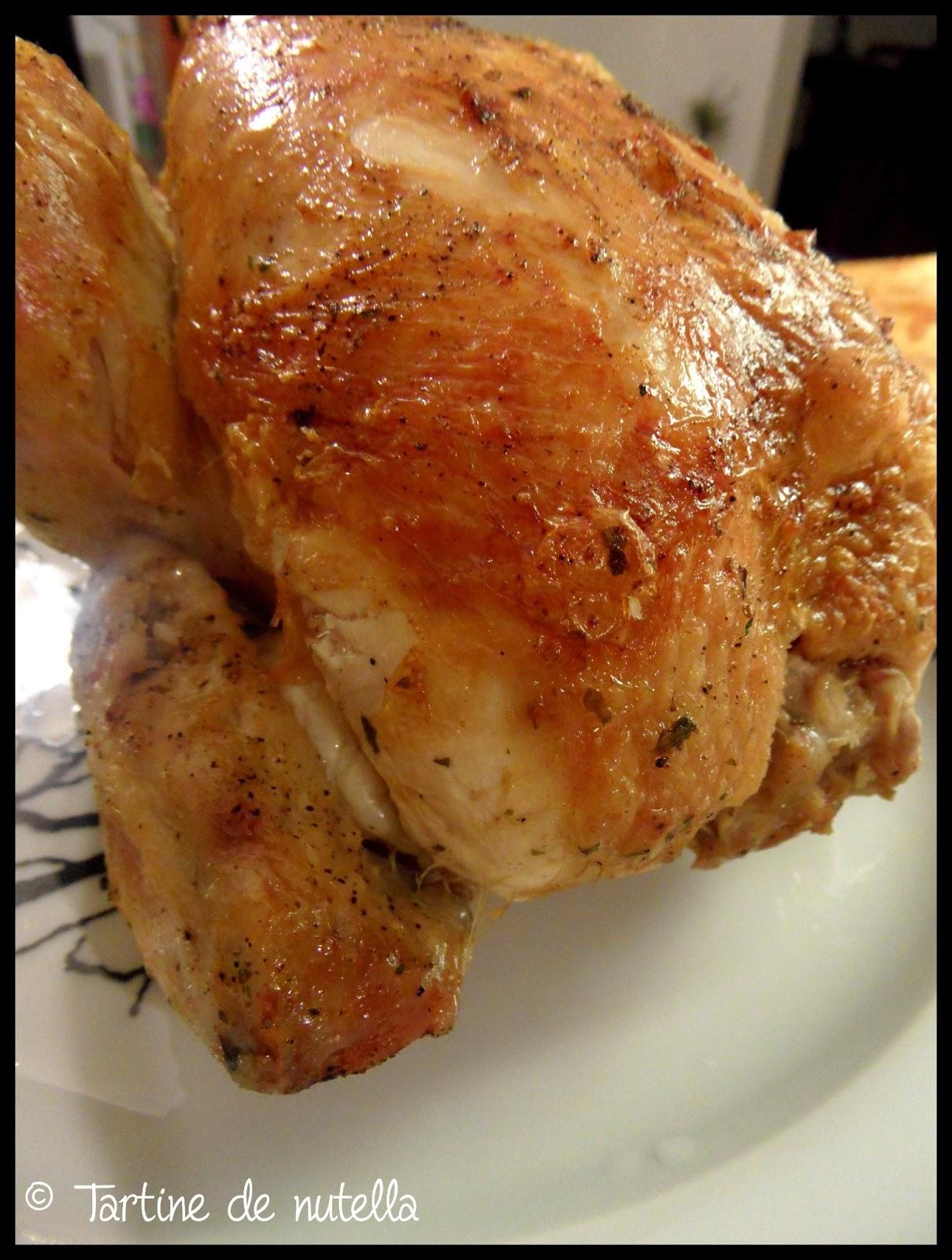 Poulet r ti comment obtenir une viande moelleux et - Cuisiner des blancs de poulet moelleux ...