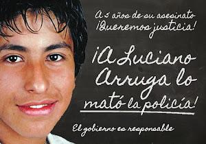 ¡Justicia para Luciano Arruga!