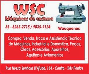 WSC Máquinas de Costura