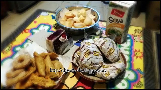 Burger Ramly untuk Hubby